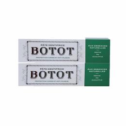 Botot Dentifrice Menthe Pin Eucalyptus - 2x75ml