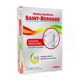 Saint-Bernard patchs chauffants douleurs musculaires - 2 patchs