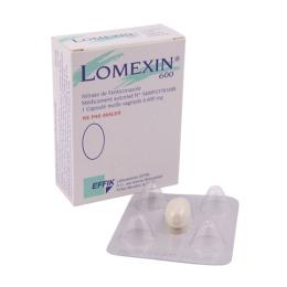 Effik Lomexin 600mg - 1 capsule molle vaginale