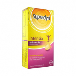 Supradyn Intensia - 30 comprimés effervescents