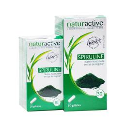 Naturactive Spiruline - 60 gélules + 20 gélules OFFERTES