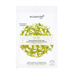 Eco Secret Masque visage Purifiant à l'extrait naturel de Tea tree