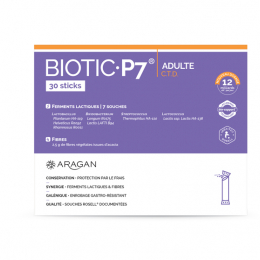 Aragan biotic 7 adulte C.T.D - 30 sticks