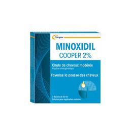 Minoxidil Cooper 2% - 3x60ml