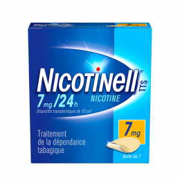 Nicotinell TTS 7mg/24h - 7 patchs
