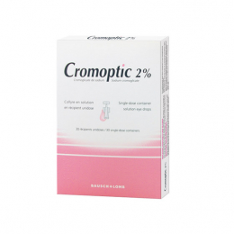 Bausch+Lomb Cromoptic 2% Collyre - 30 unidoses