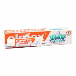 Dentifrice junior 6-12ans - 75 ml + Echantillon Elmex anti-caries OFFERT