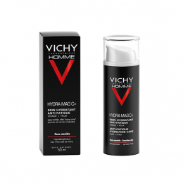 Vichy Homme Hydra mag c+ Coin hydratant anti-fatigue - 50ml