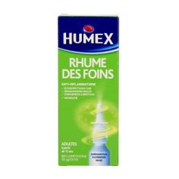 Humex rhume des foins à la beclometasone 1 flacon pulvérisateur en verre brun de 100 doses