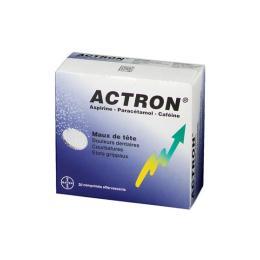 Actron effervescent - 20 comprimés