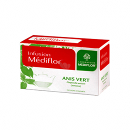 Infusions Anis vert - 24 sachets