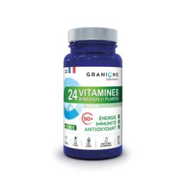 Granions 24 Vitamines Minéraux et Plantes Sénior - 90 comprimés