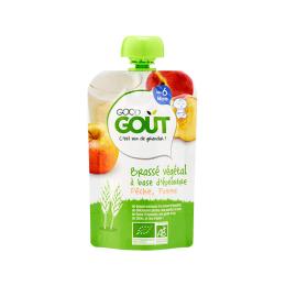Good Gout Brassé végétal BIO à base d'épeautre pomme pêche - 90g