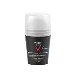 Vichy Homme Déodorant Peaux sensibles -50ml