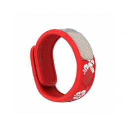 Parakito Bracelet anti-moustique - graffic rouge