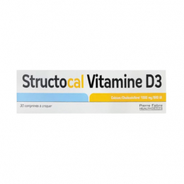 Structocal Vitamine D3 - 30 comprimés