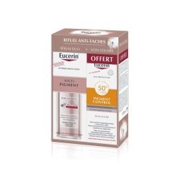 Eucerin Rituel Anti-Taches Sérum Duo + Pigment Control SPF50+ 50ml OFFERT