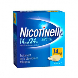 Nicotinell TTS 14mg/24h - 7 patchs