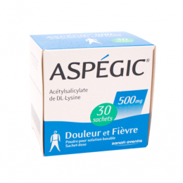 Aspegic 500mg - x30 sachets