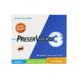 Bausch+Lomb Preservision 3 - 180 capsules