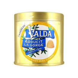 Valda Gommes pour la gorge miel citron- 160g