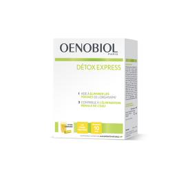 Oenobiol Detox express goût citron gingembre - 10 sticks