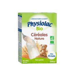 Physiolac Céréales Nature BIO 4 mois - 200g