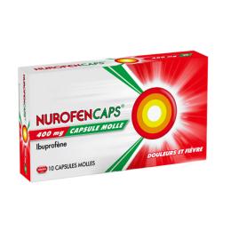 Nurofencaps 400 mg  - x10 capsules