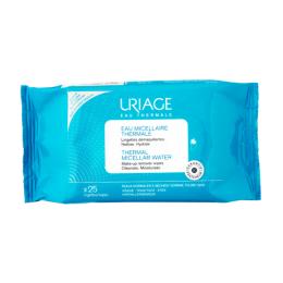 Uriage Eau Micellaire Thermale peau normale à sèche - 25 lingettes