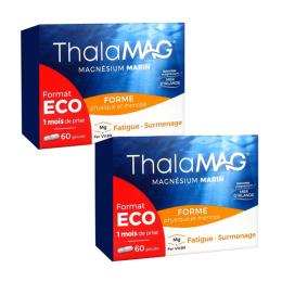 Thalamag Magnésium marin forme physique et mentale - 2x60 gélules