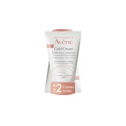 Avène Cold cream crème mains concentrée - 2x50ml