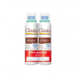 Rogé Cavailles Déo Dermato Anti-odeur Spray 48H - 2x150ml