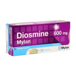 Diosmine Mylan  600mg - x30 comprimés