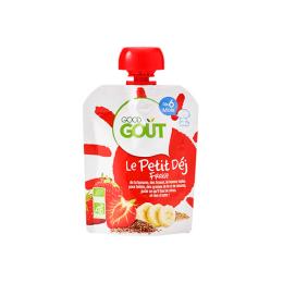 Good Gout Le petit déj BIO fraise- 70g