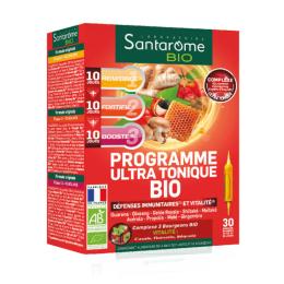 Santarome Programme ultra tonique BIO - 30 ampoules
