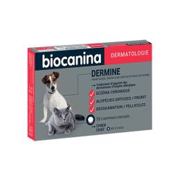 Biocanina Dermine Chien et chat - 72 comprimés