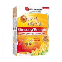 Forté Pharma Forté royal Ginseng'énergie - 20 ampoules