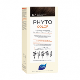 Phyto Phytocolor Kit de coloration permanente - 5.7 Châtain clair marron
