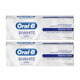 Oral-B 3D White Luxe Perfection - 2x75ml