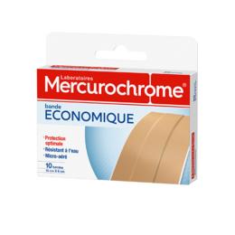 Mercurochrome Bande économique - 10x6cm