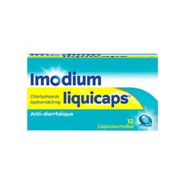 ImodiumLiquicaps 2mg - 12 capsules