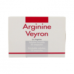 Arginine Veyron solution buvable - 20 ampoules