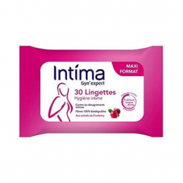 Intima Gyn'expert  lingettes intimes -  x30