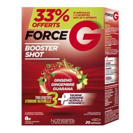 Nutrisanté force G booster shot 20 ampoules