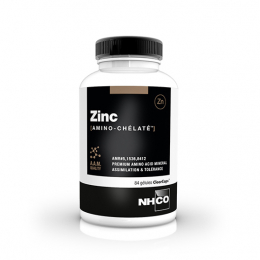 NHCO Zinc amino chélaté - 84 gélules
