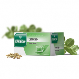 Mediflor Infusion Fenouil digestion - 24 sachets