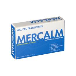 Mercalm - 15 comprimés