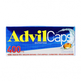Advilcaps 400mg - x14 Capsules Molles