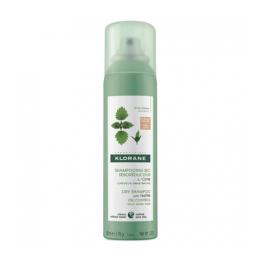 Klorane shampooing sec teinté cheveux gras châtains à bruns - 150ml