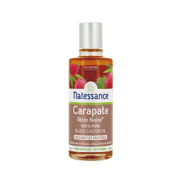 Natessance huile carapate ricin noire - 100ml